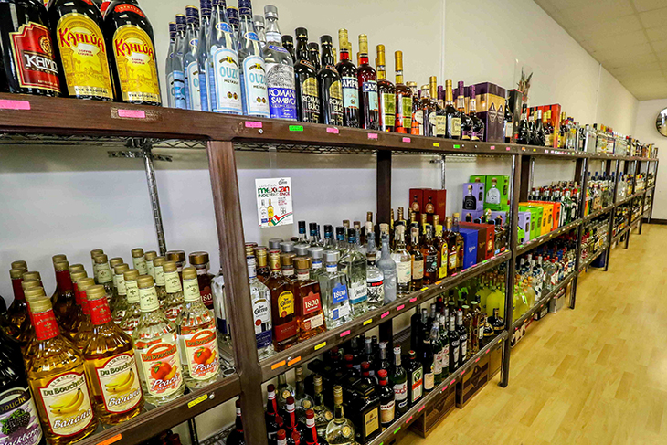 Inside Island Wines & Spirits