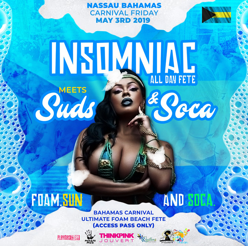 Insomniac All Day Fete 2019 meets Suds & Soca