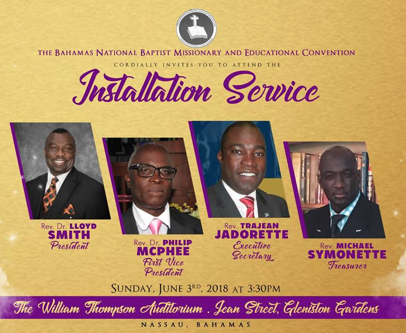 Installation Service Hosted by Bahamas National Baptist Missionary & Educational Convention