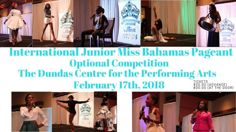 International Junior Miss Bahamas Pageant Optional Competition