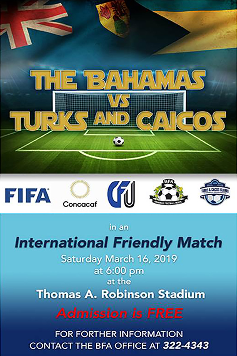 International Friendly Match - Admission is FREE