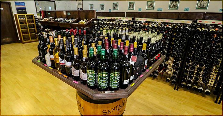Inside Island Wines & Spirits