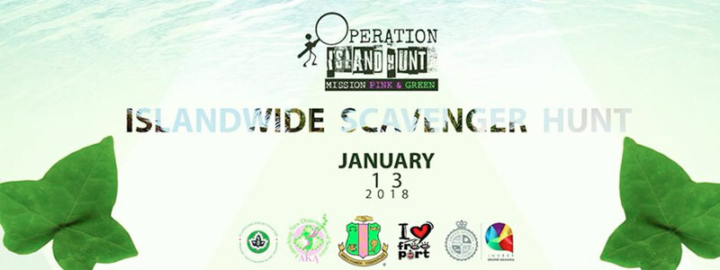 Islandwide Scavenger Hunt - Mission Pink and Green