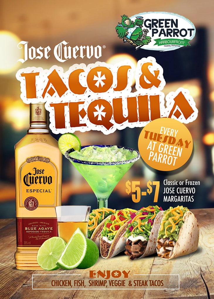 Commonwealth Brewery Limited Presents Tacos and Tequila At Green Parrot!