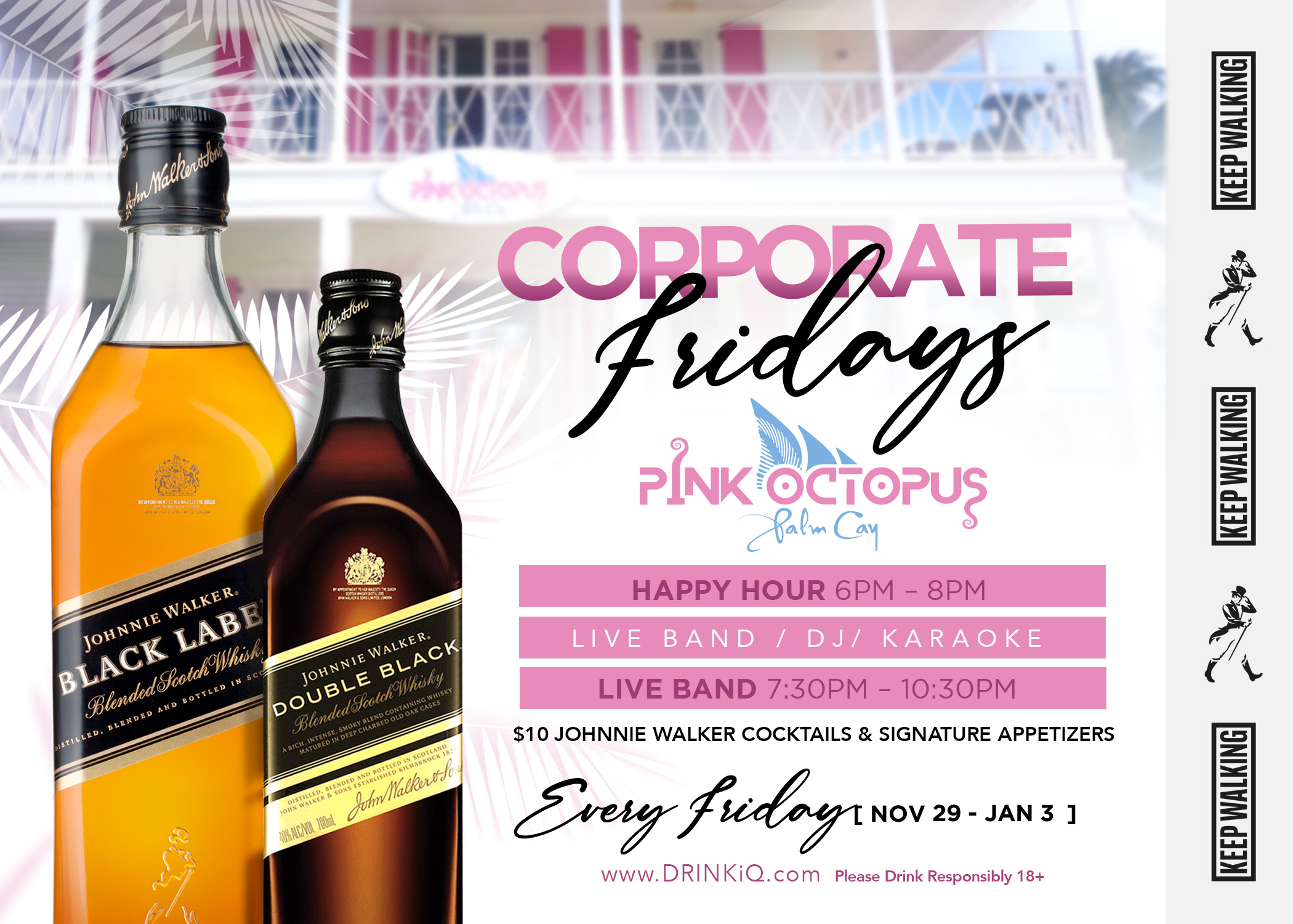 Corporate Friday at Pink Octopus