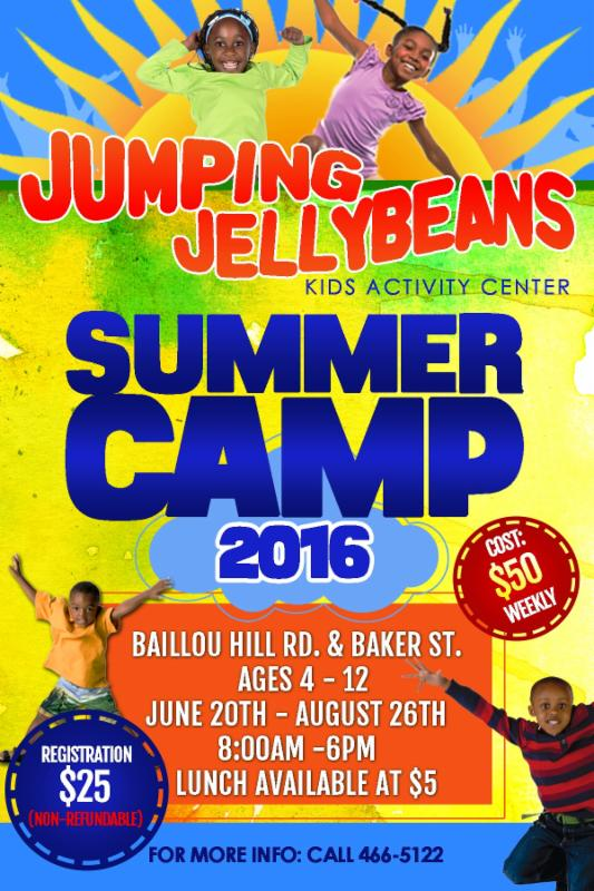 Jumping Jelly Beans Summer Camp 2016