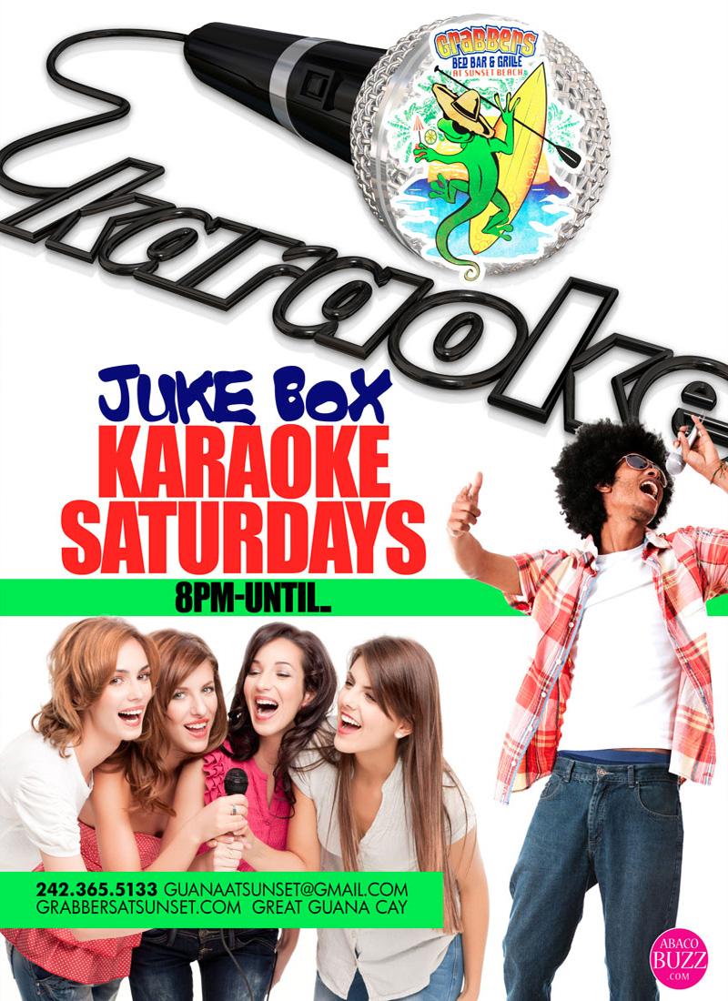 Jukebox Karaoke Saturdays at Grabbers