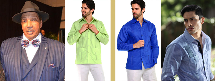 Men's wardrobe and shirt models provided by K.S. Moses.
