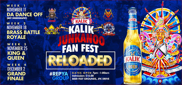Commonwealth Brewery Limited| Kalik Junkanoo Fan Fest RELOADED!