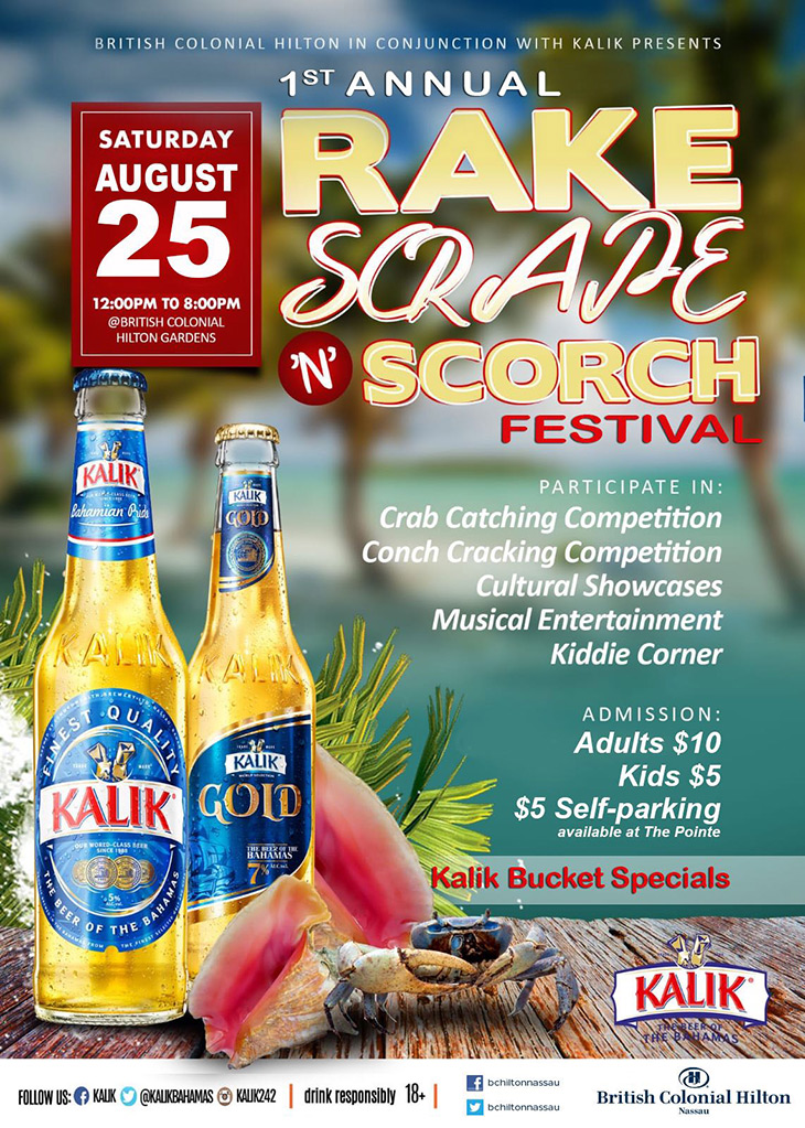 British Colonial Hilton   1st Annual Rake N Scrape N Scorch Festival