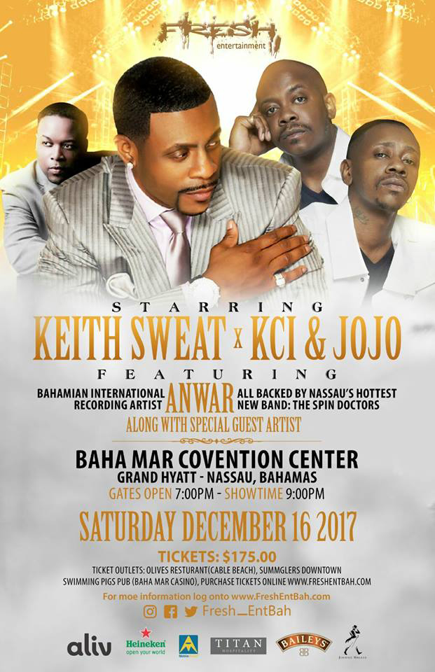 FreshLive 2017 Featuring K-Ci & JoJo and Keith Sweat
