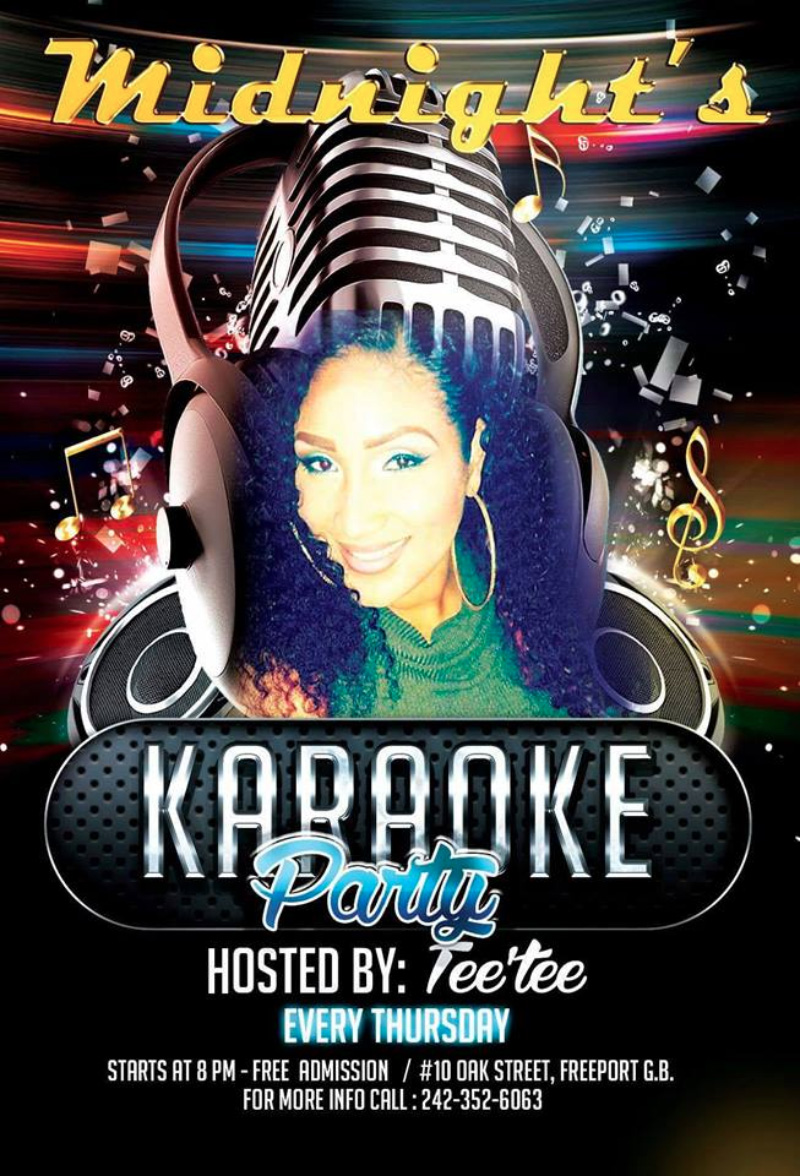 Karaoke Party Hosted by Midnights Lounge