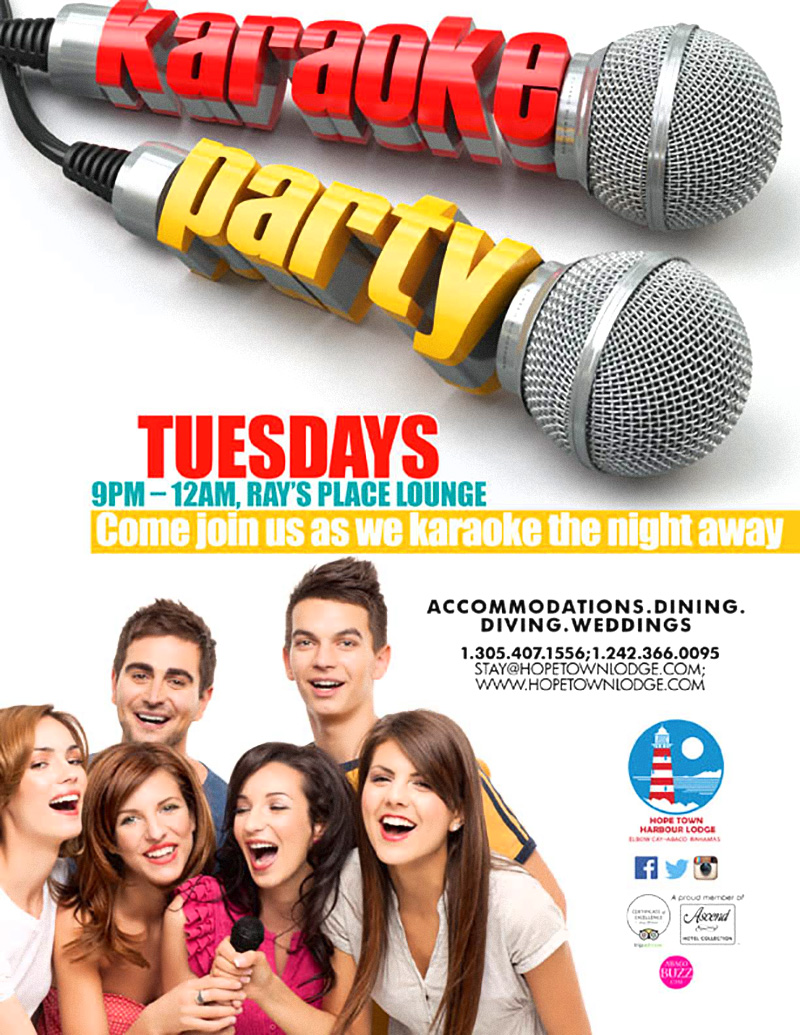 Karaoke Party | Hope Town Harbour Lodge