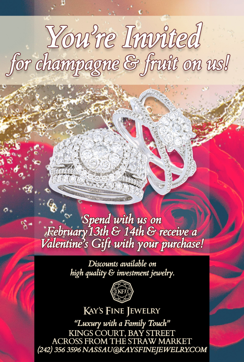 Kays Fine Jewelry Invites You To Champagne and Fruit