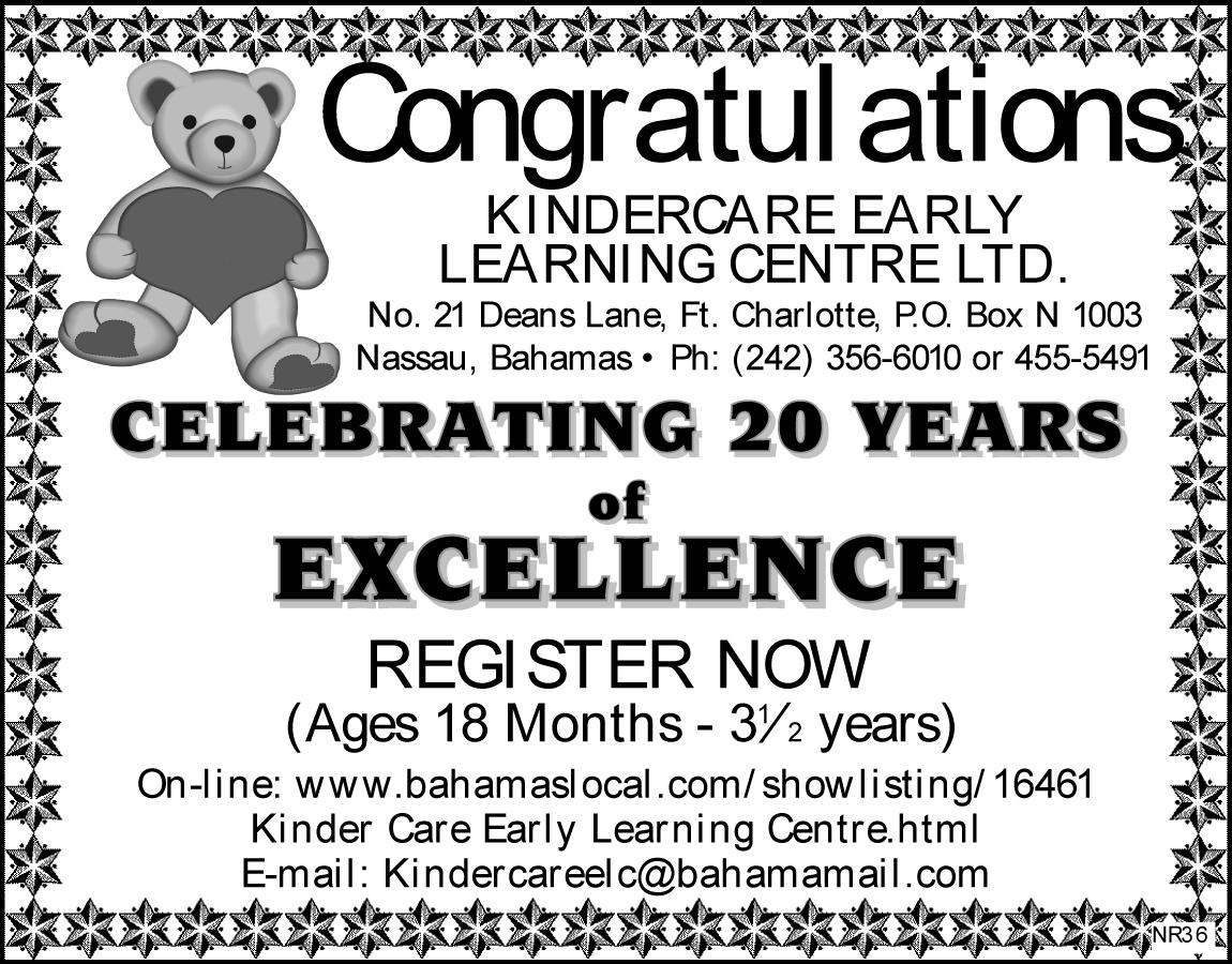 Kinder Care Early Learning Centre - Nassau - Nassau / Paradise ...