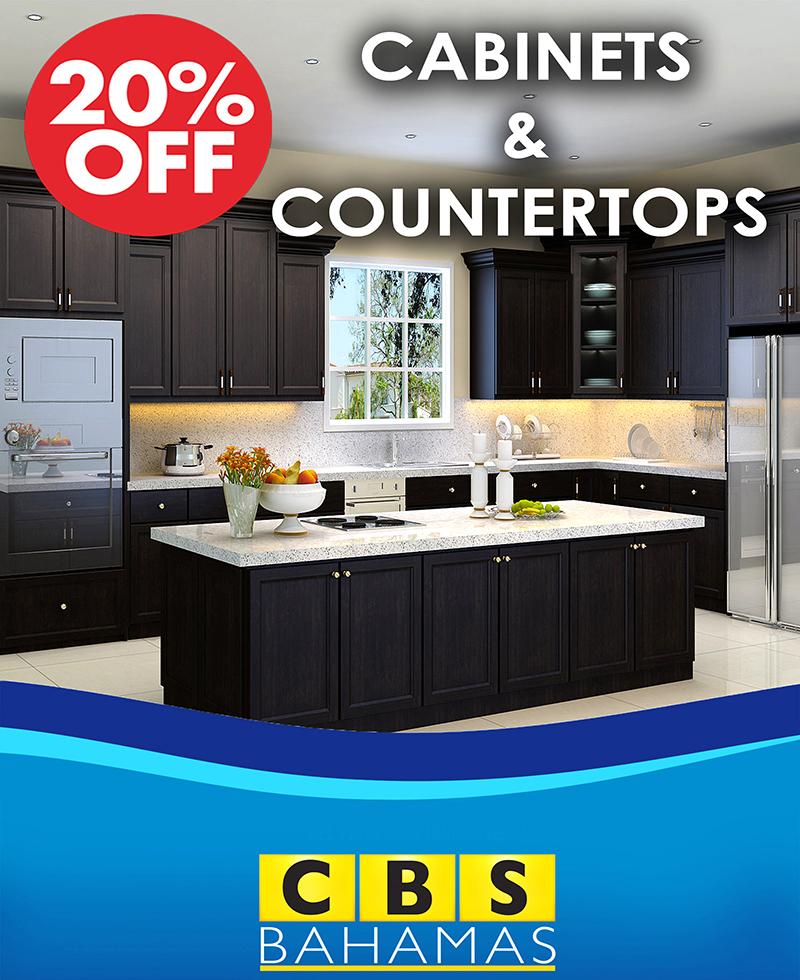 CBS Bahamas Cabinets and CounterTops!