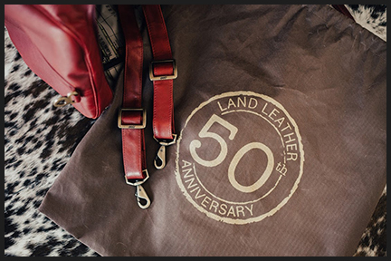 LAND LEATHER is celebrating its 50th anniversary