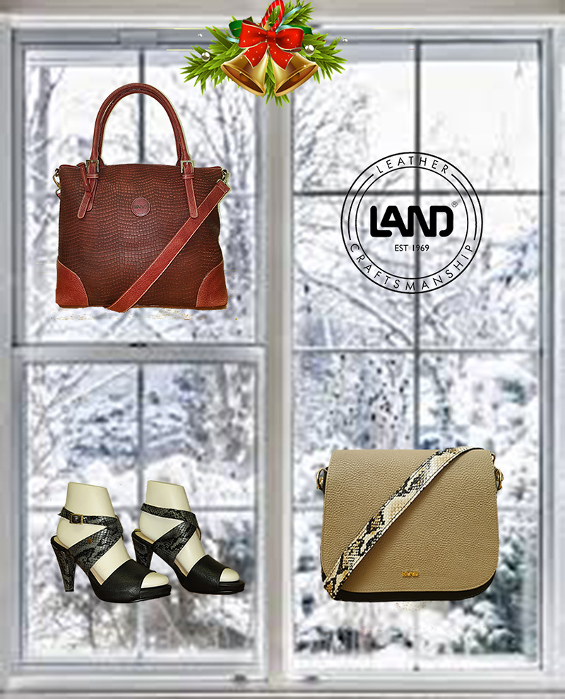 LAND - new arrivals! Quality leather never goes out of style.