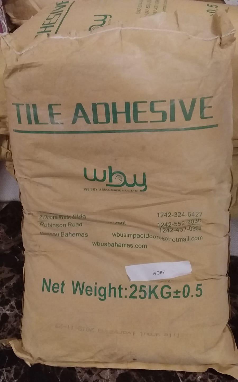 We Buy - U Sell. Tile Adhesive