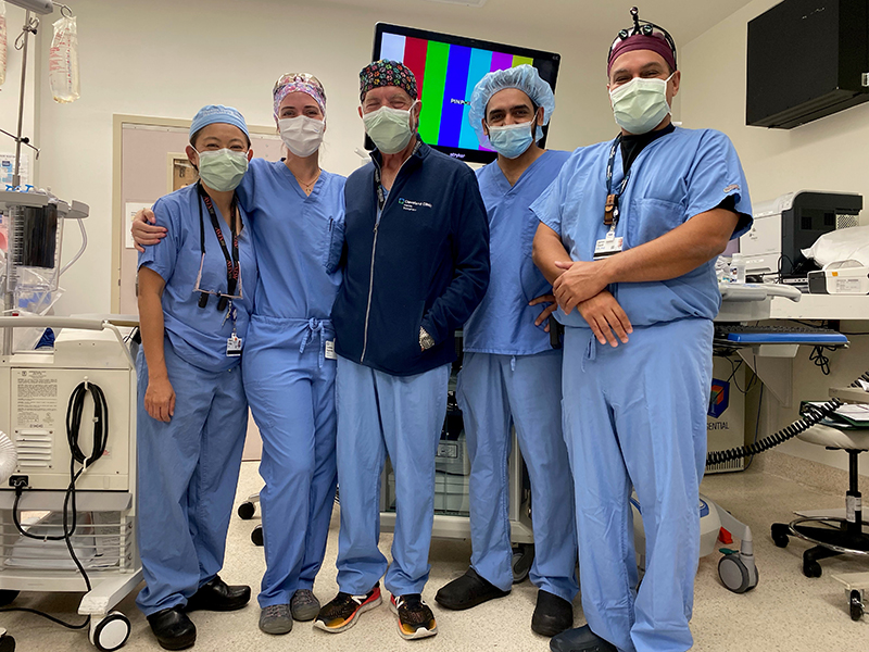 Cleveland Clinic Florida, Weston's Team of physicians who performed the hospital's first living liver donor transplant surgery