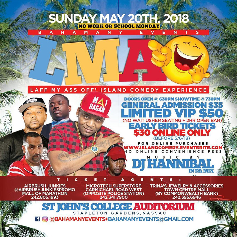 LMAO Presented by Bahamany Events