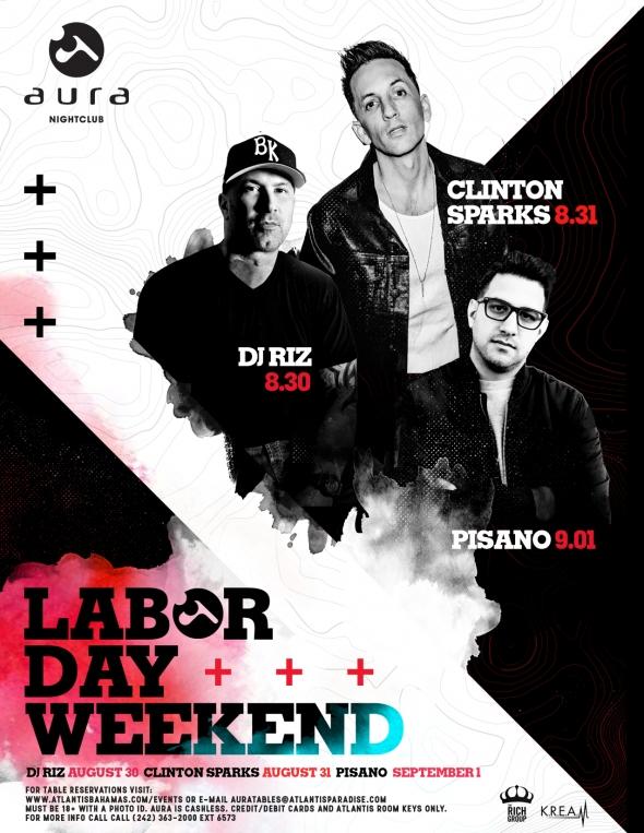 Labor Day Weekend at Aura Nightclub