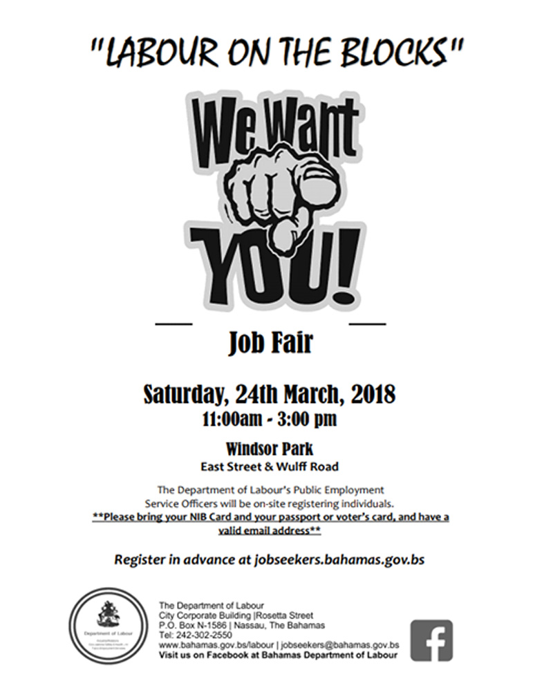 Job Fair - Department of Labour