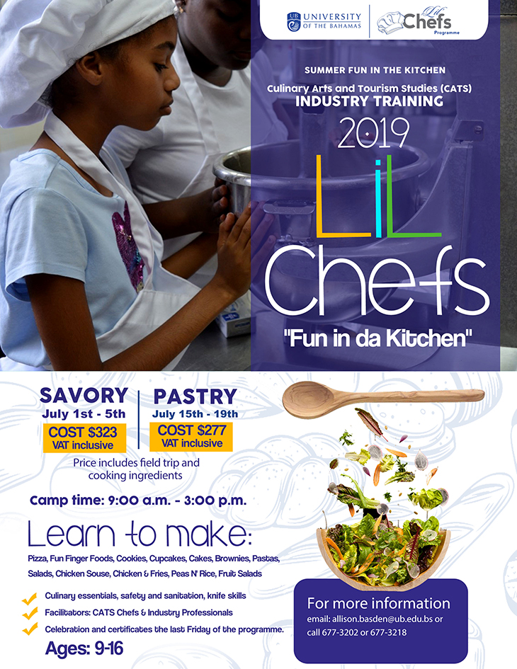 2019 Lil Chefs At The University Of The Bahamas
