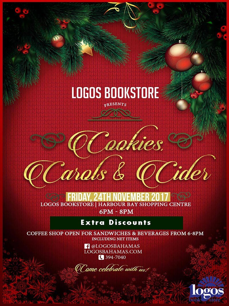Logos Bookstore Presents Cookies, Carols and Cider