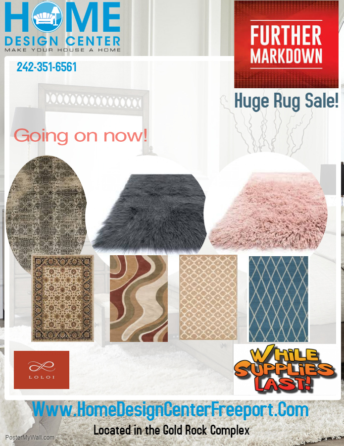 Going On Now! Huge Rug Sale At Home Design Centre