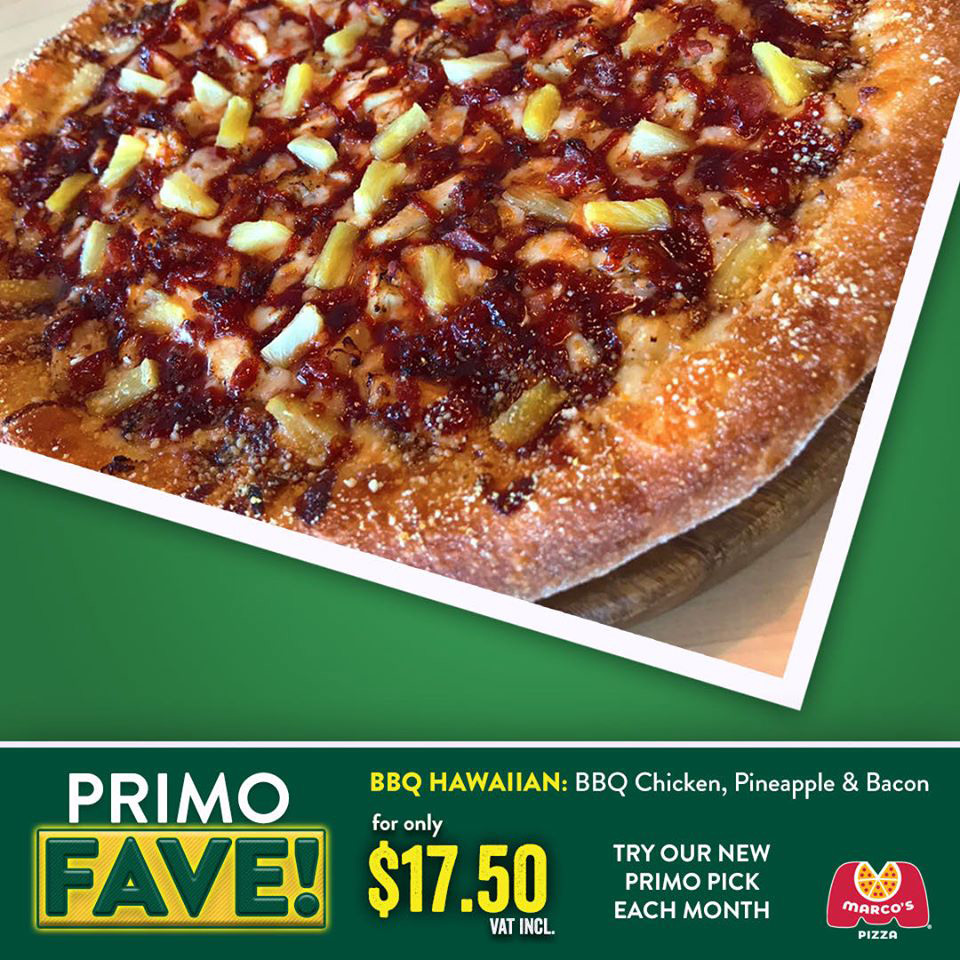 NEW AT MARCO'S PIZZA - Primo Fave
