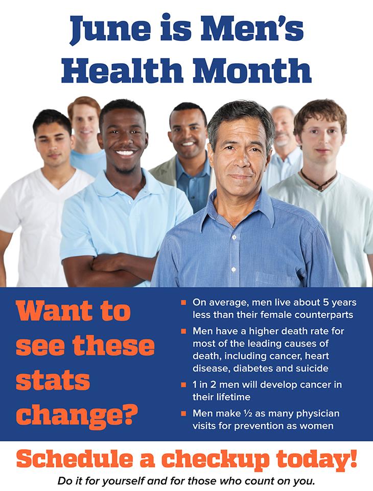 June: Men's Health Month