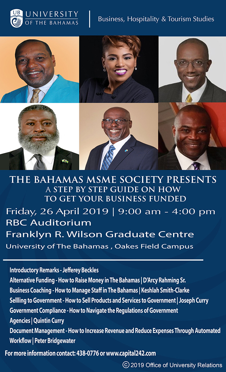 The Bahamas MSME Society Presents A Step By Step Guide On How To Get Your Business Funded