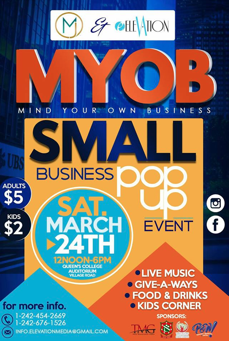 MYOB Pop Up Event