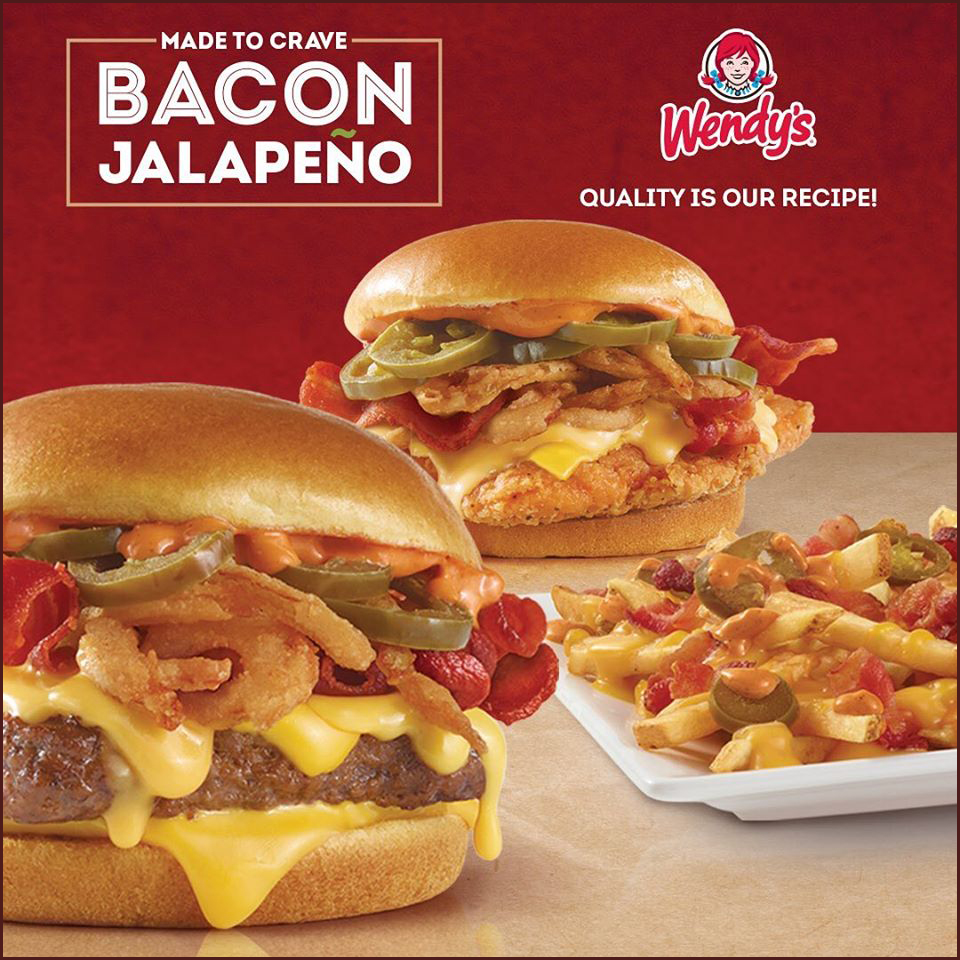 A new burger is here! Made to Crave - Bacon Jalapeño Sandwiches