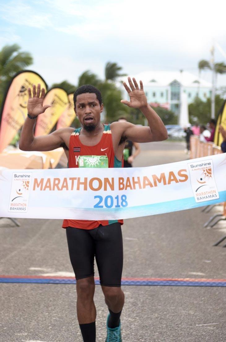 Winner! Marathon Bahamas 2016