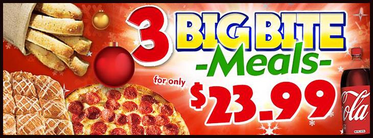 Marcos Pizza Big Bite Meals