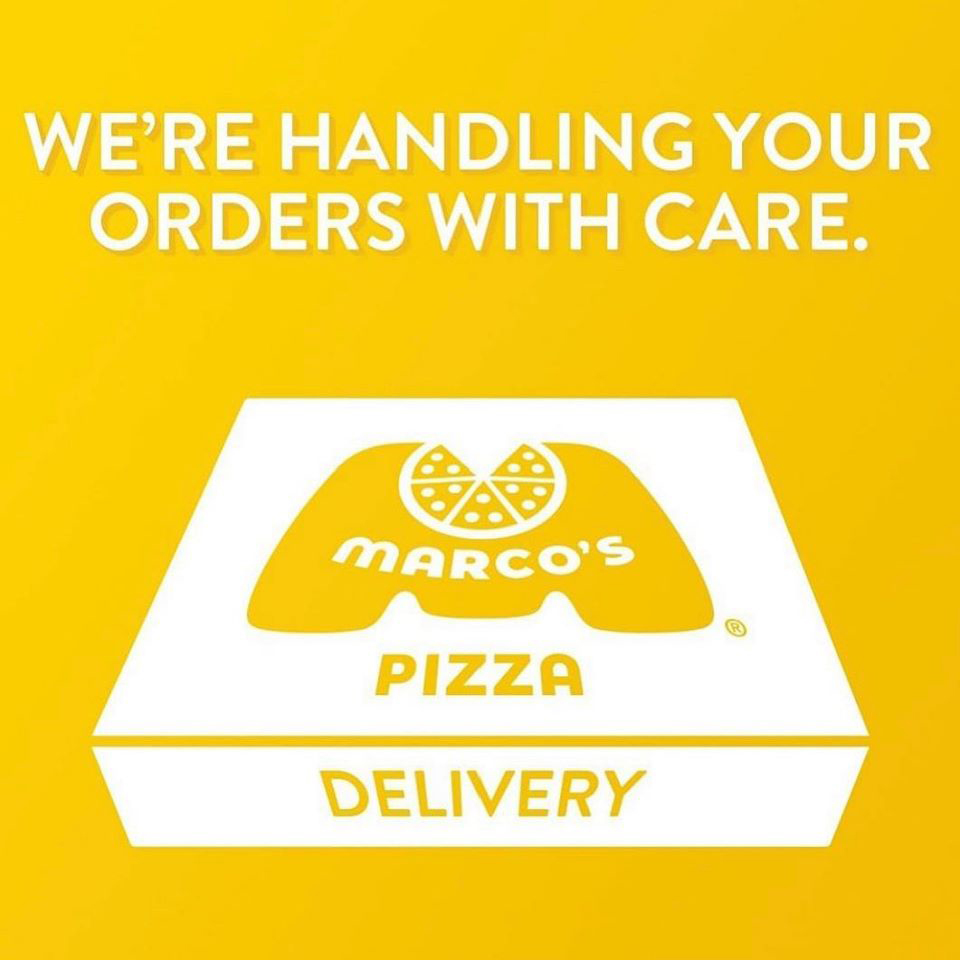 We're here for you! Delivery or Carryout. Orders can be placed online.