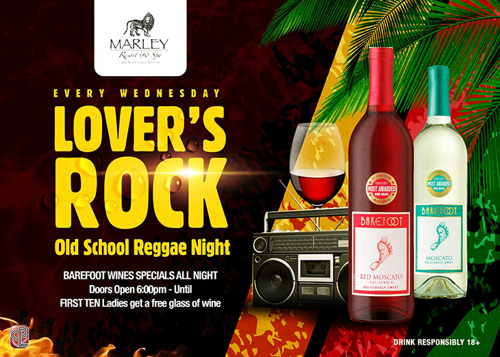 Commonwealth Brewery Ltd | Lovers Rock Old School Reggae Night Wednesday