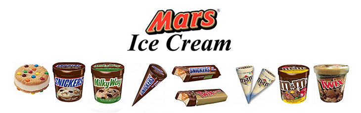 Mars Ice Cream at Fun Foods Wholesale Ltd