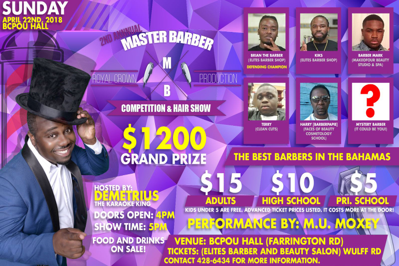 2nd Annual Master Barber