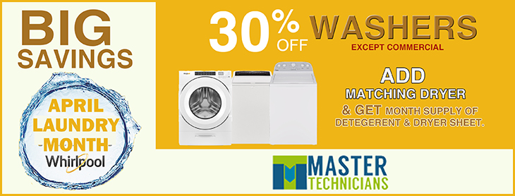 April 2019 - Laundry Month at Master Technicians Limited.