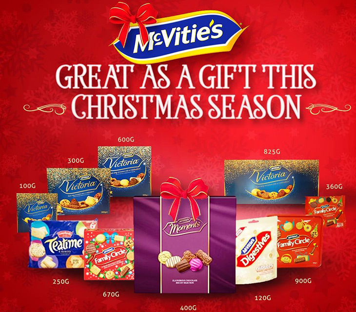McVities brand is great as a gift this Christmas season at Bahamas Wholesale Agencies Ltd