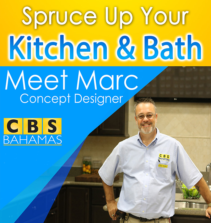 Come and Meet Marc, Concept Designer at CBS Bahamas!