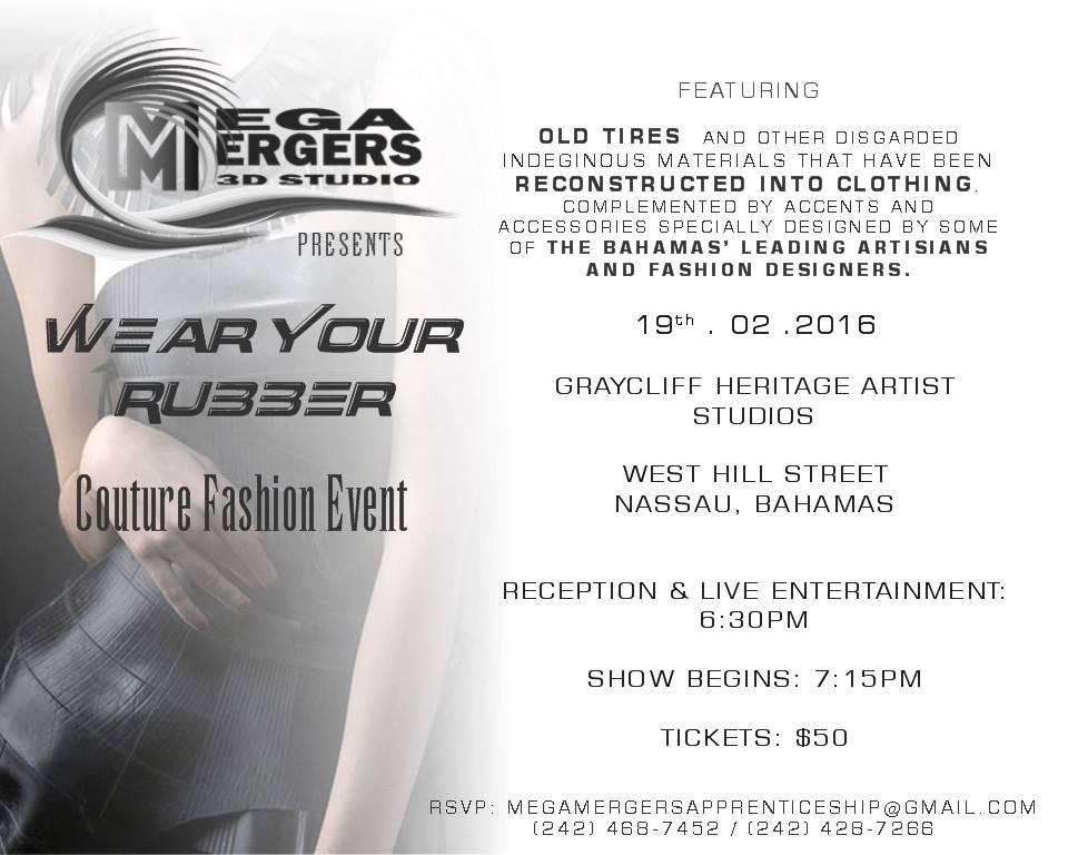 Wear Your Rubber Couture Fashion Event