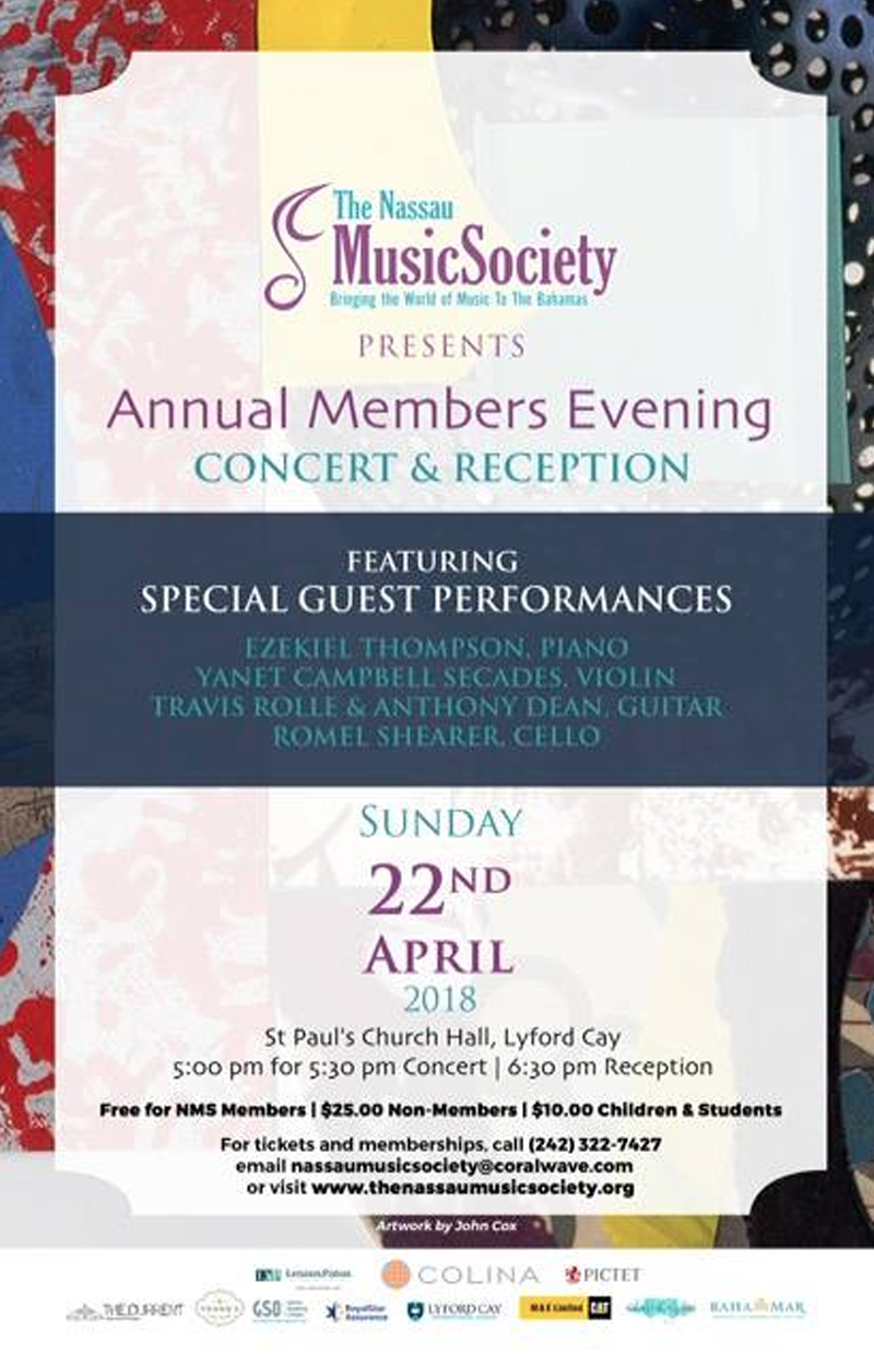 Annual Members Meeting Concert & Reception