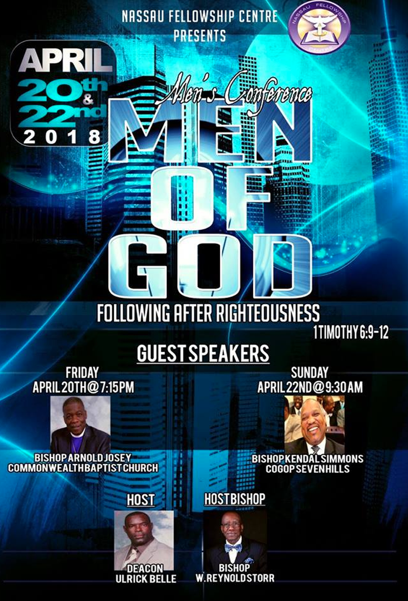 Men's Conference Hosted by Nassau Fellowship Centre