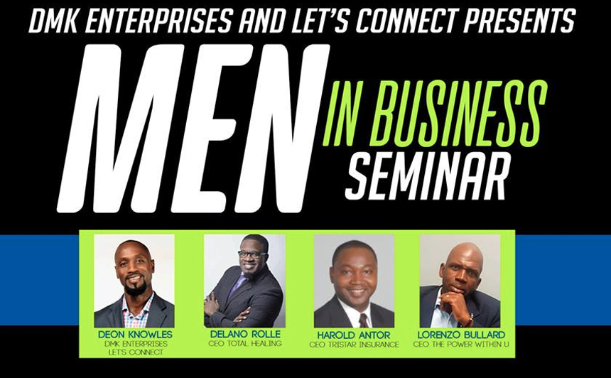 Men In Business Seminar