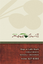Olives Meze Grill Menu