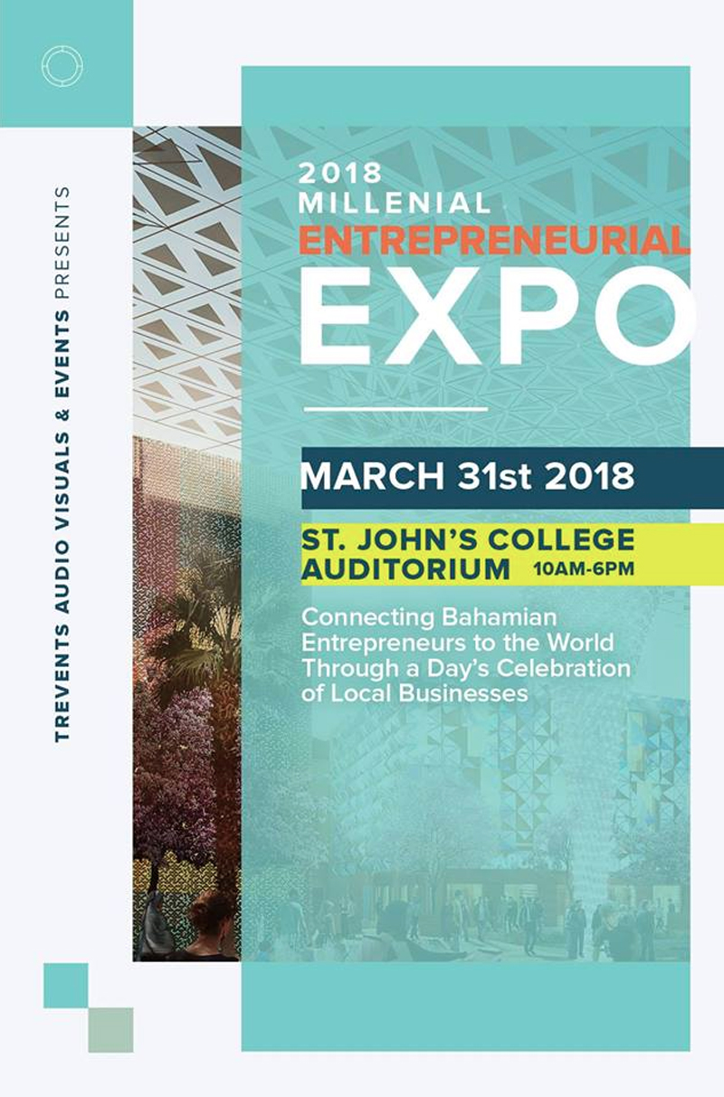 Millennial Entrepreneurial Expo 2018 Hosted by Trevents Audio Visuals & Events